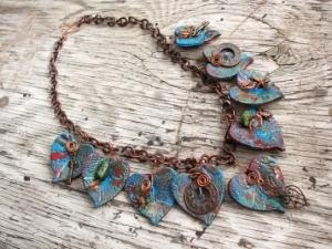 heart necklace on Sculpey website