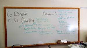 FAndango classroom board